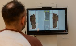 Analyse Fußdruckmessung